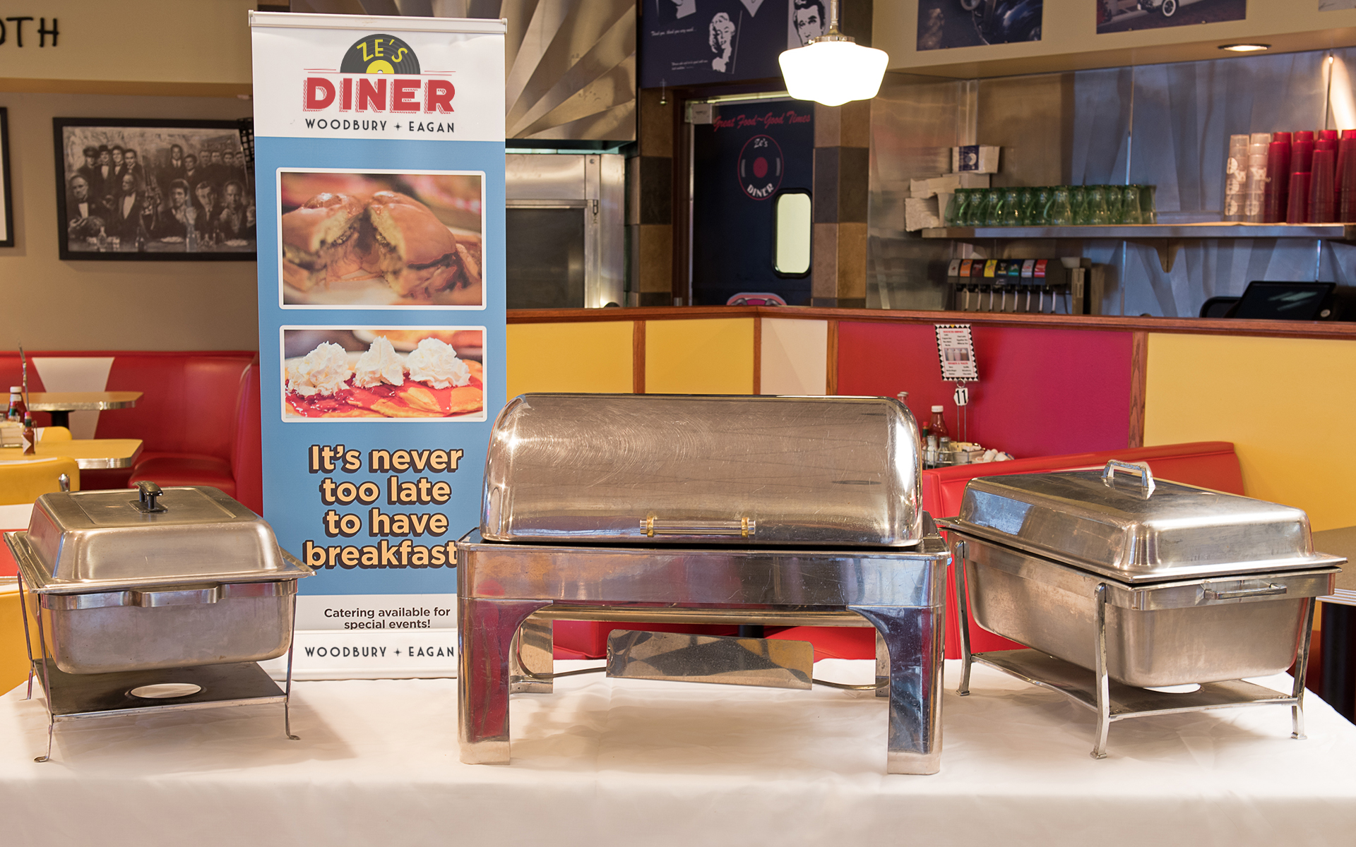 Ze's Diner Does Catering
